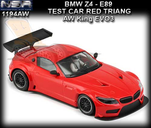 NSR 1194AW - BMW Z4 GT3 - Red Test car