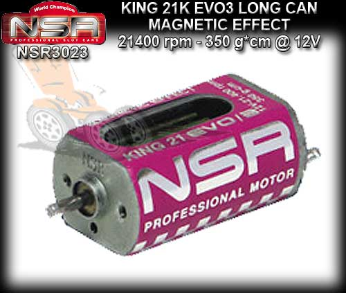 NSR MOTOR 3023 - KING 21400rpm EVO/3 Open Can Magnetic Effect