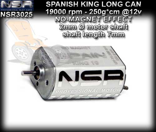 NSR MOTOR 3025 - SPANISH KING 19000 rpm EVO Boxer Closed Can