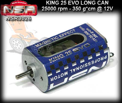 NSR MOTOR 3026 - KING 25000 rpm EVO Boxer Open Can