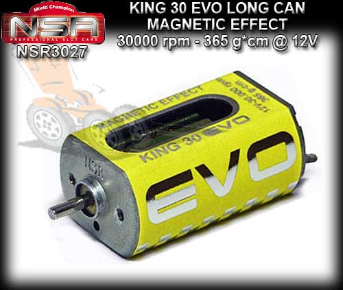NSR MOTOR 3027 - KING 30000rpm Boxer Open Can