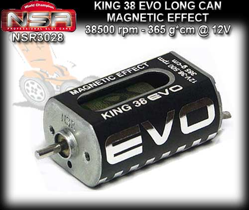 NSR MOTOR 3028 - KING 38500rpm Boxer Open Can