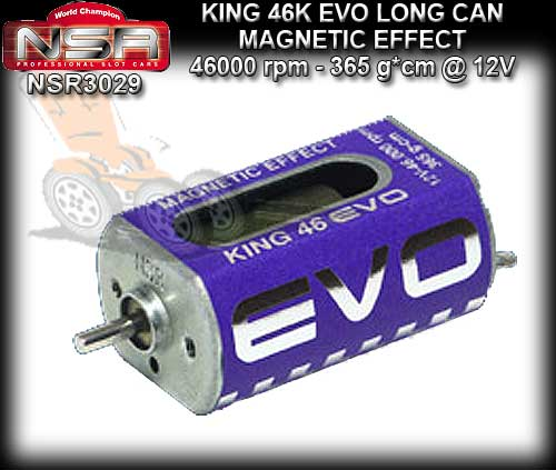 NSR MOTOR 3029 - KING 46000rpm EVO Boxer Open Can