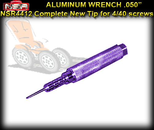 NSR WRENCH 4412 - .050 Aluminium Wrench