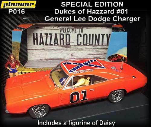 PIONEER P016 - 1968 Dodge Charger Dukes of Hazzard #01