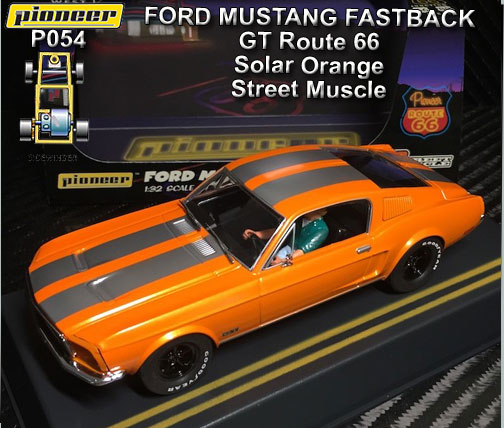 PIONEER P054 - Ford Mustang Fastback 1968 - Solar Orange