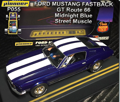 PIONEER P055 - Ford Mustang Fastback 1968 - Midnight Blue