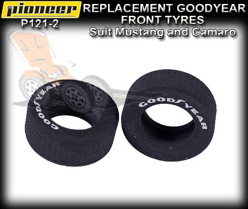 PIONEER TYRES P121-2 2 x Front Goodyear Tyres