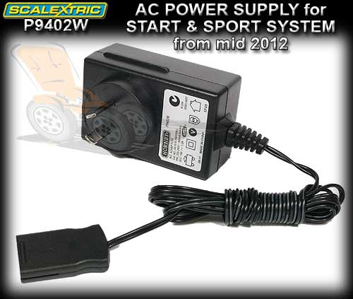 SCALEXTRIC AC POWER PACK P9402W - for START and SPORT mid 2012