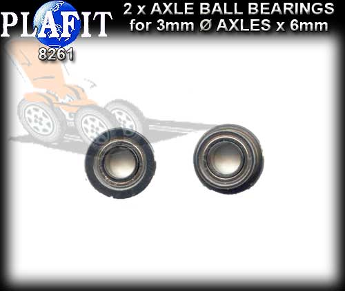 PLAFIT BALL BEARINGS 8261 - Steel Ball Brearings