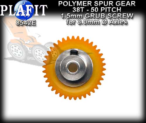 PLAFIT SPUR GEARS 8542E - 38T 50 Pitch Polymer gear