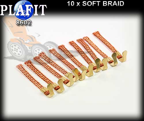 PLAFIT BRAID 8602 - Soft Copper Braid