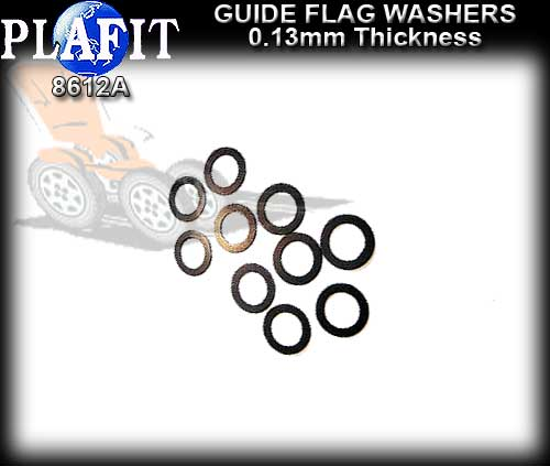 PLAFIT GUIDE WASHERS 8612A - Guide Washer 0.13mm thick