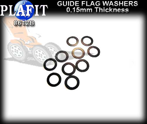 PLAFIT GUIDE WASHERS 8612B - Guide Washer 0.15mm thick