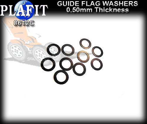PLAFIT GUIDE WASHERS 8612C - Guide Washer 0.5mm thick