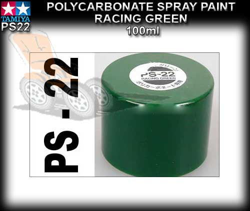 TAMIYA SPRAY PAINT POLYCARBONATE PS22 - 100ml Racing Green