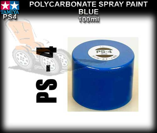 TAMIYA SPRAY PAINT POLYCARBONATE PS4 - 100ml Bright Blue
