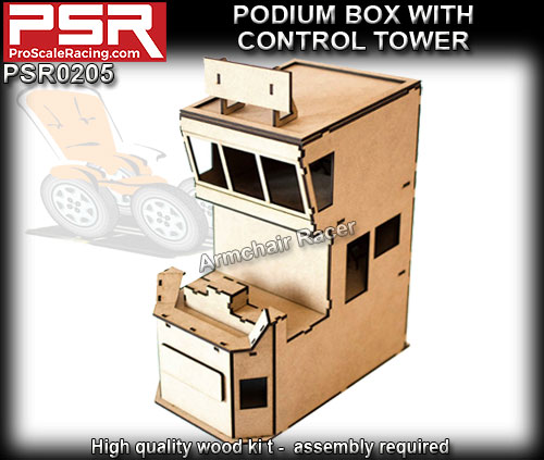 PRO SCALE RACING SCENERY PSR0205 - Tower Pit Box