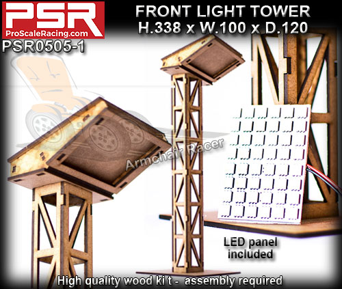 PRO SCALE RACING SCENERY PSR0505-1 - Front Light Tower
