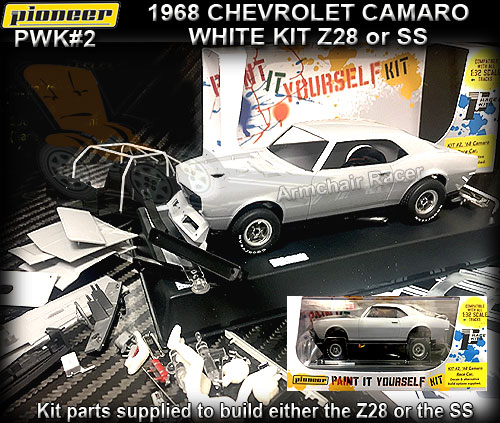PIONEER PWK#2 - 1968 Chevrolet Camaro (Z28 or SS) - White kit