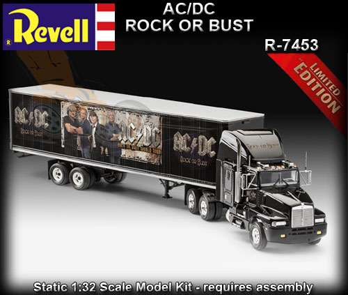 REVELL R7453 - AC/DC 'Rock or Bust' Truck 1:32 scale model