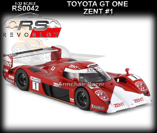REVO SLOT RS0042 - Toyota GT-One - Zent #1