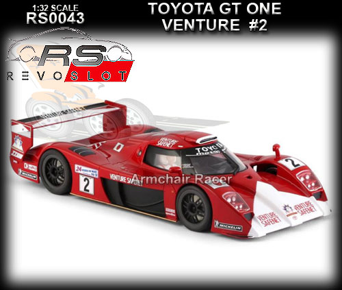 REVO SLOT RS0043 - Toyota GT-One - Venture Safenet #2
