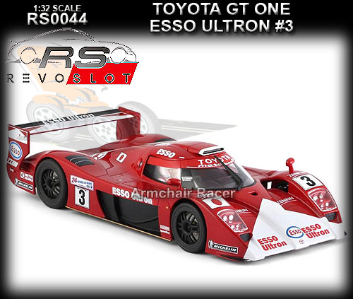 REVO SLOT RS0044 - Toyota GT-One - Esso Ultron #3