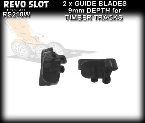 REVO SLOT GUIDE RS210W - 9mm deep guide for wooden track