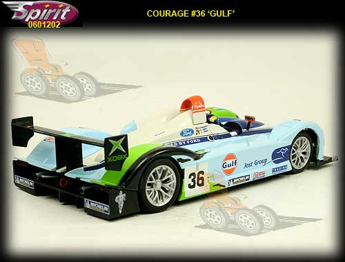 SPIRIT S601202 - Courage C65 Le Mans 2005 Gulf #36