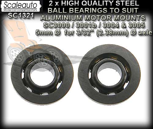 SCALEAUTO AXLE BEARINGS SC1321 - High Quality Ball Bearings