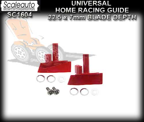 SCALEAUTO GUIDE SC1604 - Home Guide - depth 7mm blade & Spacers