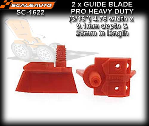 "SCALEAUTO GUIDE SC1622 - Pro Guide 3/16"" depth 9.1mm length 28mm"