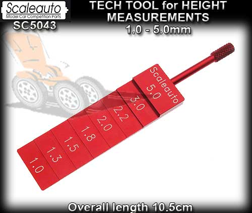 SCALEAUTO HEIGHT TOOL SC5043 - Tech Tool for Height Measurement