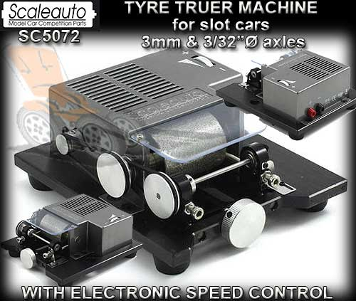 SCALEAUTO TYRE TRUER SC5072 - requires external power supply
