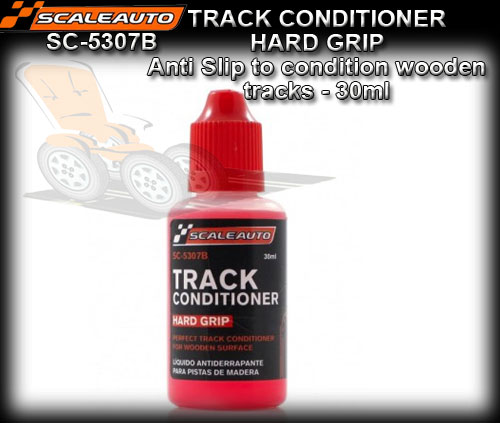SCALEAUTO TRACK CONDITIONER SC5307B - Track grip 30ml for timber