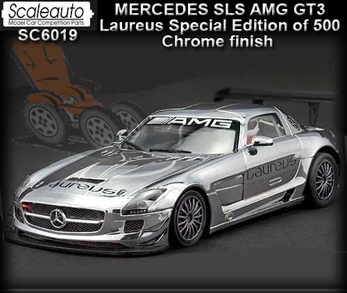 SCALEAUTO SC6019 - Mercedes SLS AMG GT3 - Chrome