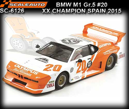 SCALEAUTO SC6126 - BMW M1 Group 5 - Olympus 2015 #20