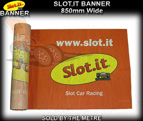 SLOT.IT BANNER - 1 metre length