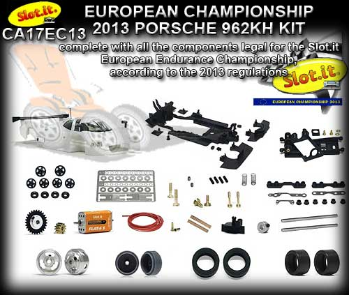 SLOT.IT CA17EC13 - Porsche 962C KH - Euro Championship 2013 Kit