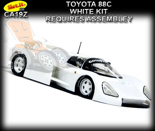 SLOT.IT CA19Z - Toyota 88C White kit - requires assembly