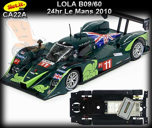 SLOT.IT CA22A - Lola B09/60 - 24hr Le Mans 2010 #11