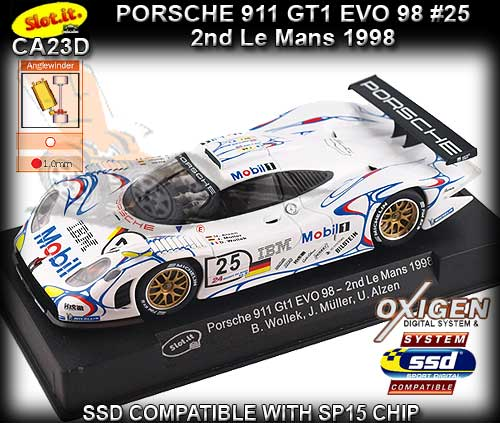 SLOT.IT CA23D - Porsche 911 GT1 EVO98 - Le Mans 1998