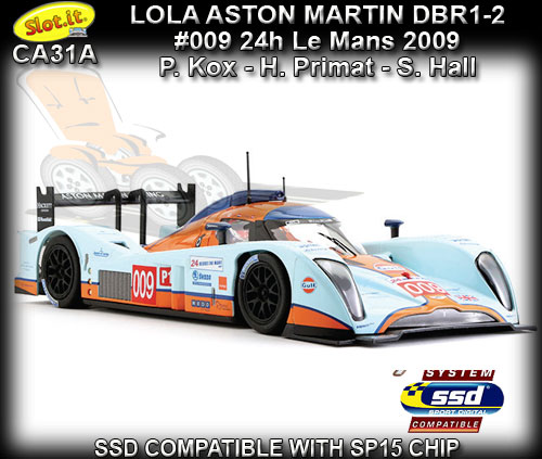 SLOT.IT CA31A - Lola Aston Martin DBR1-2 (B09/60) - Gulf #009