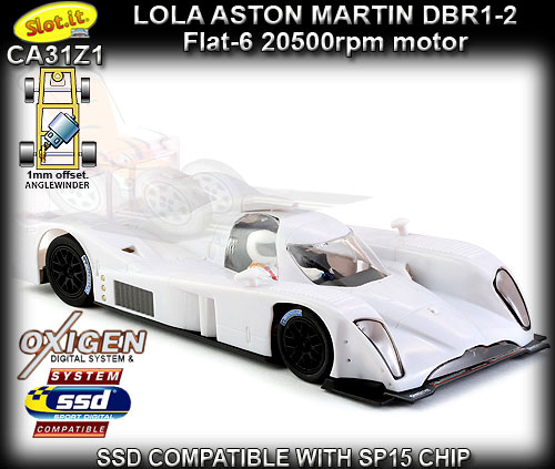 SLOT.IT CA31Z1 - Lola Aston Martin DBR1-2 (B09/60) - White kit