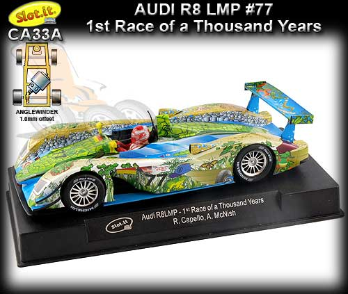 SLOT.IT CA33A - Audi R8 LMP #77 Winner Race of a Thousand Years