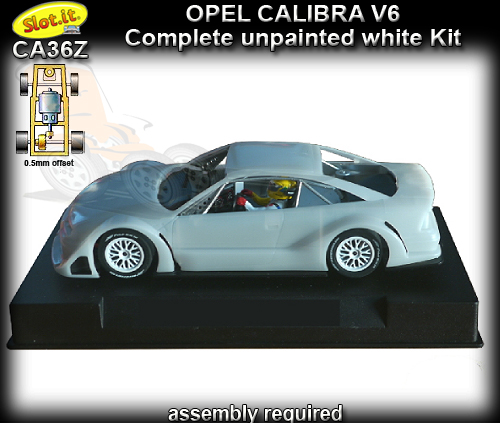 SLOT.IT CA36Z - Opel Calibra V6 - white kit - requires assembly