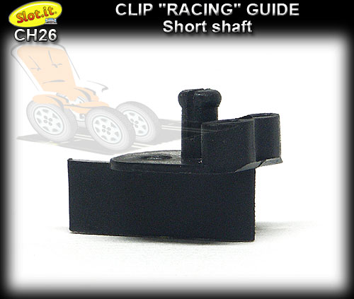 SLOT.IT GUIDE CH26 - Clip Racing pickup guide - Short Shaft