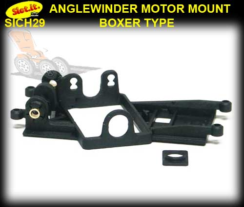 SLOT.IT MOTOR MOUNT CH29 - Anglewinder Long-Can Flat6