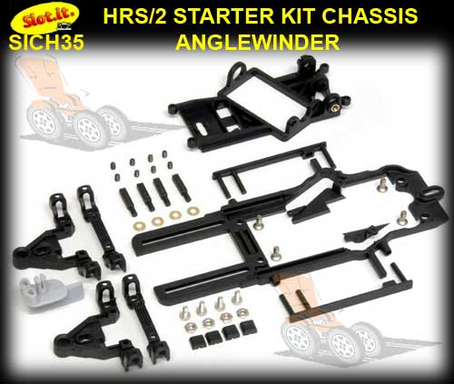 SLOT.IT CHASSIS KIT CH35 - HRS/2 Anglewinder Starter Kit